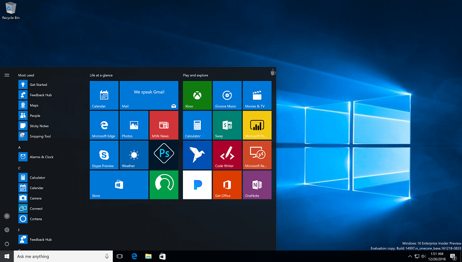 free download full version Windows 10 Pro 19H1 X64 September 2019