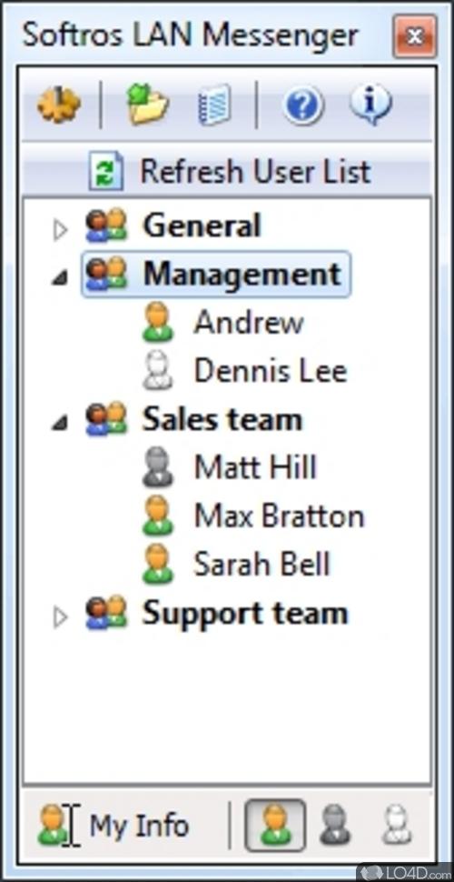 Free Download for Windows PC Softros LAN Messenger 9.2