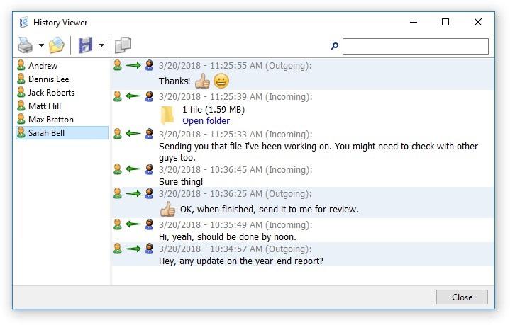 Offline Installer Download Softros LAN Messenger 9.2