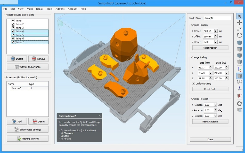 free download full version Simplify3D 3.1