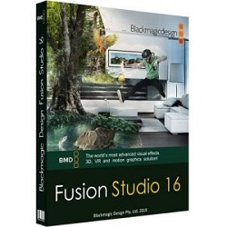 Blackmagic Fusion Studio 16.0 Free Download