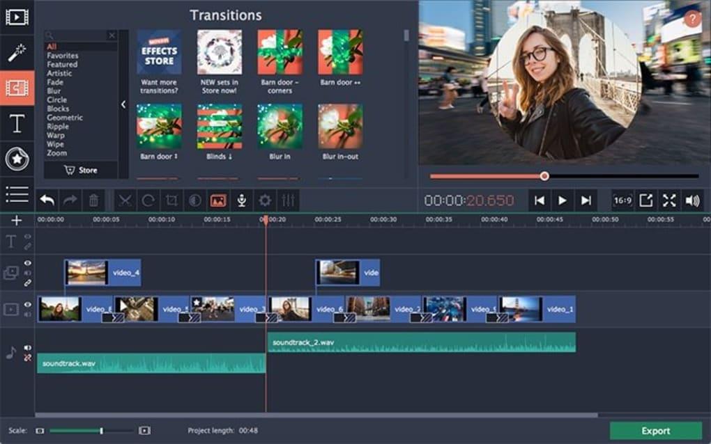 Offline Installer Download Movavi Video Editor Plus 20.0