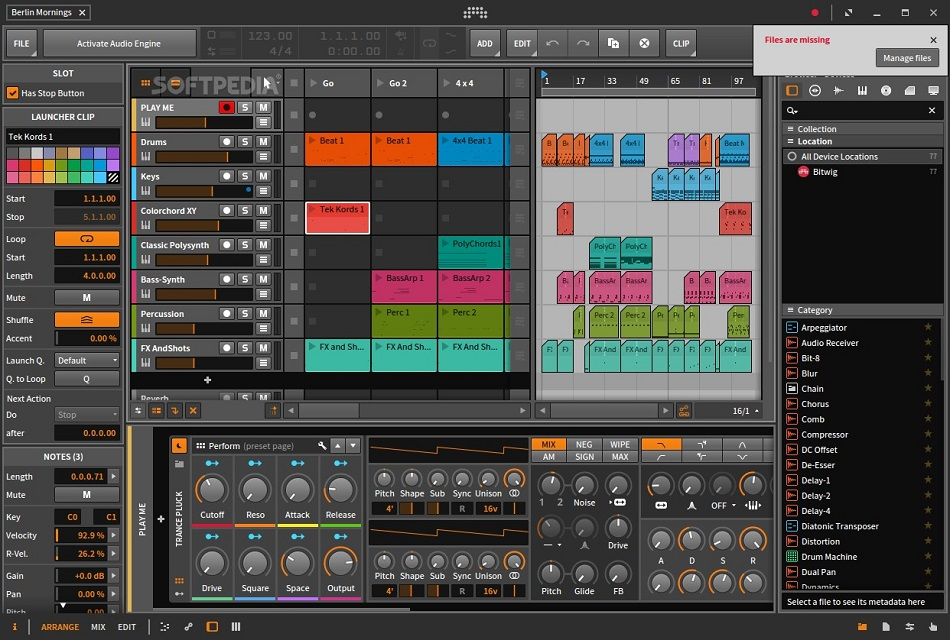 free download full version Bitwig Studio 3.0
