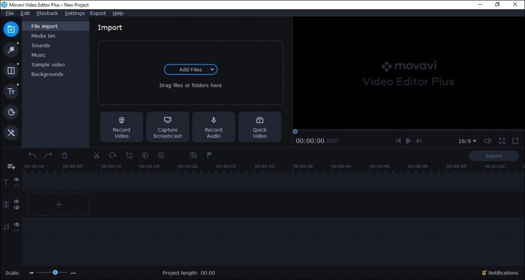 free download full version Movavi Video Editor Plus 20.0