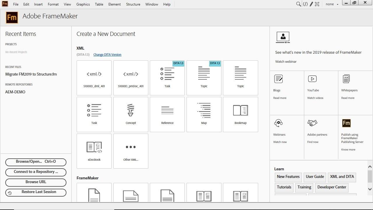 Free Download for Windows PC Adobe FrameMaker 2019 v15.0.5