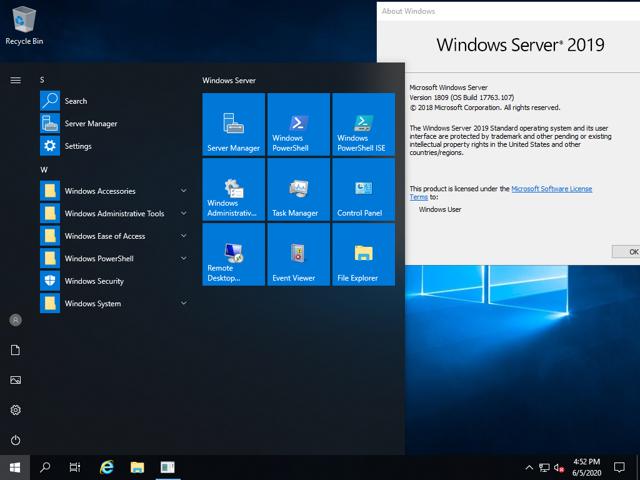 Free Download for Windows PC Microsoft Windows Server 2019 v1909 January 2020 Build 18363.592