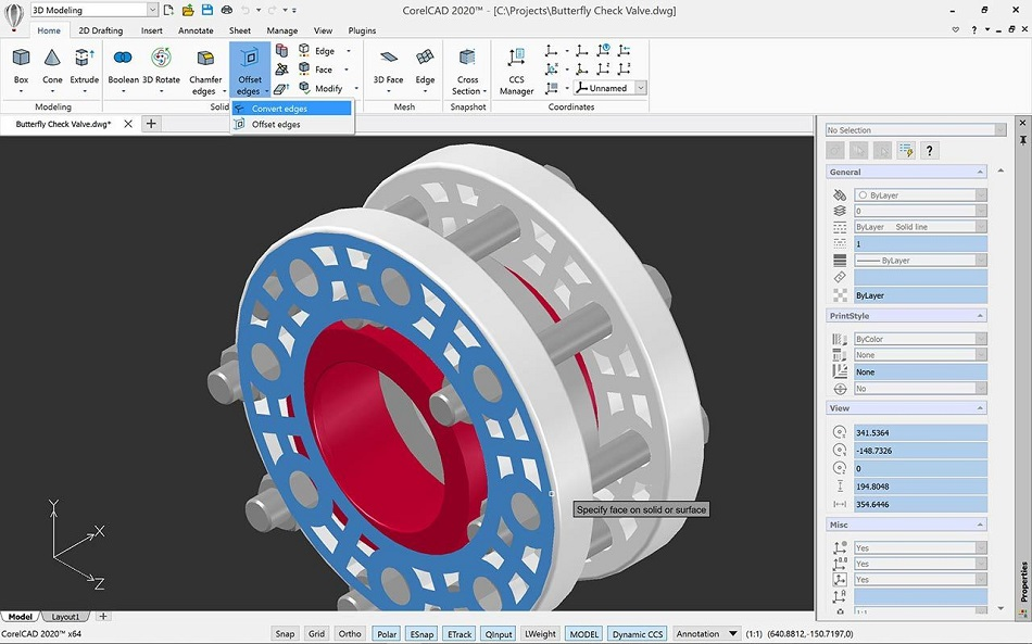 Free Download for Windows PC CorelCAD 2020