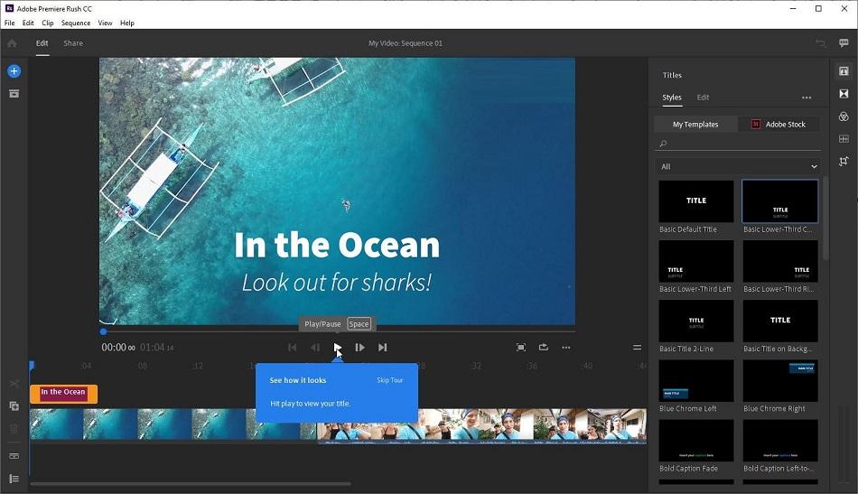 Offline Installer Download Adobe Premiere Rush CC 2020