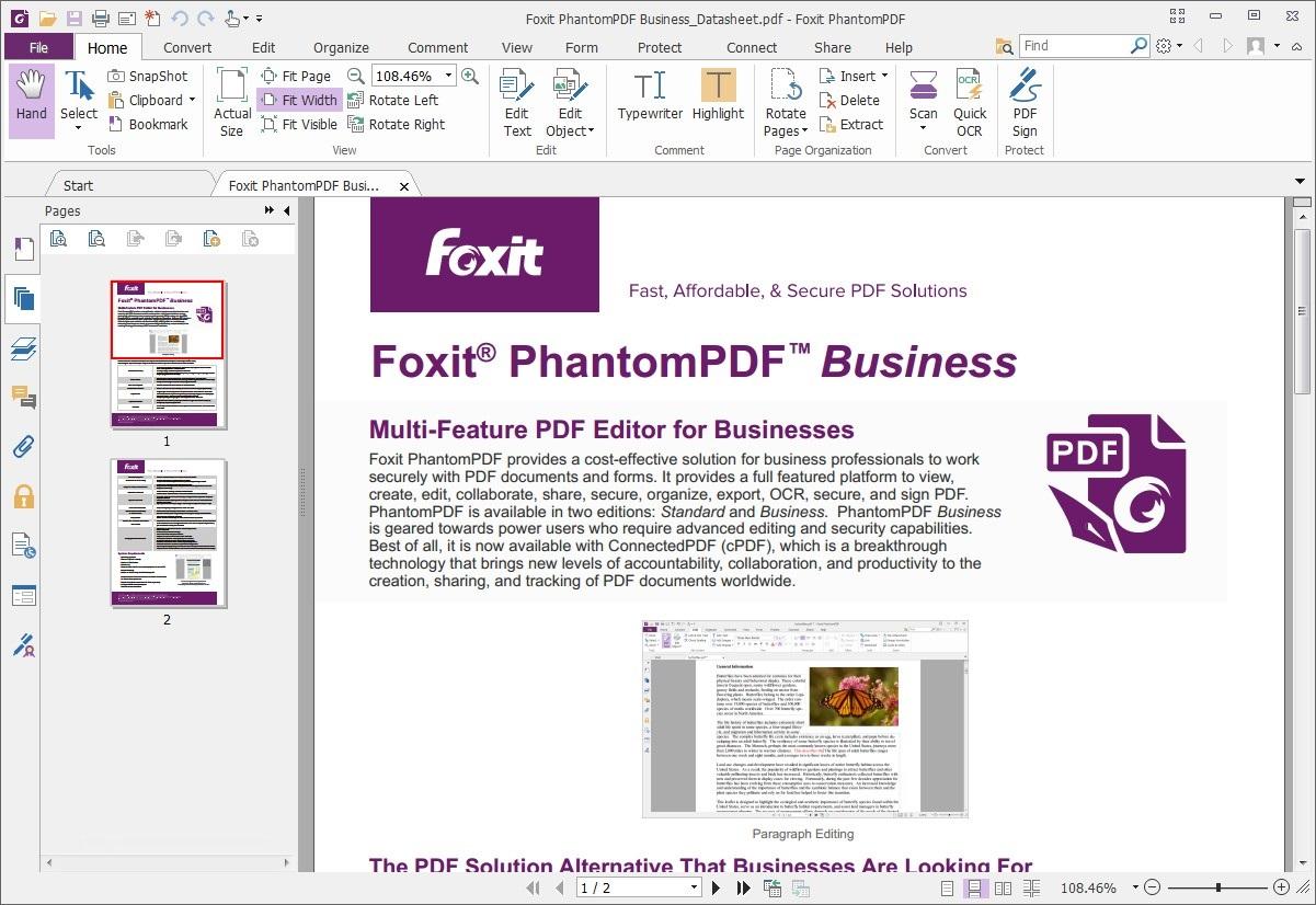 Offline Installer Download Foxit PhantomPDF Business 9.7
