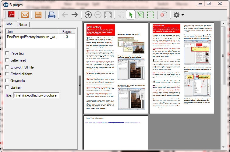 Offline Installer Download pdfFactory Pro 7.15