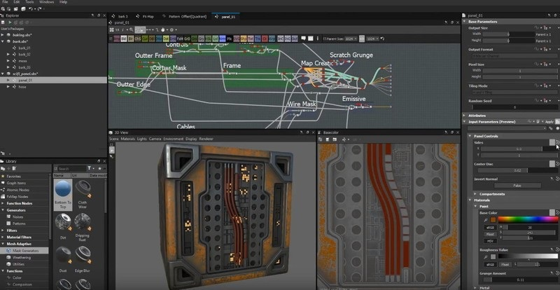 Offline Installer Download Allegorithmic Substance Designer 2019.3