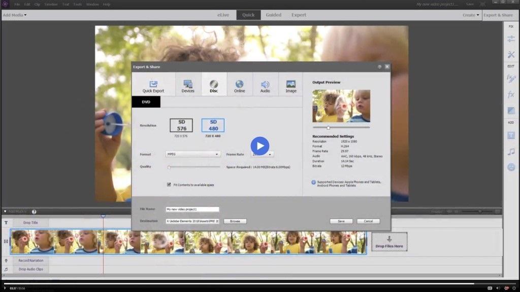 Offline Installer Download Adobe Premiere Elements 2020 v18.1