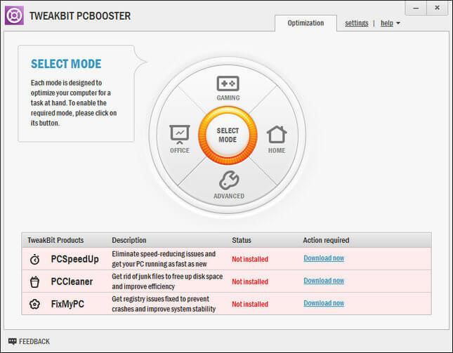 free download full version TweakBit PCBooster