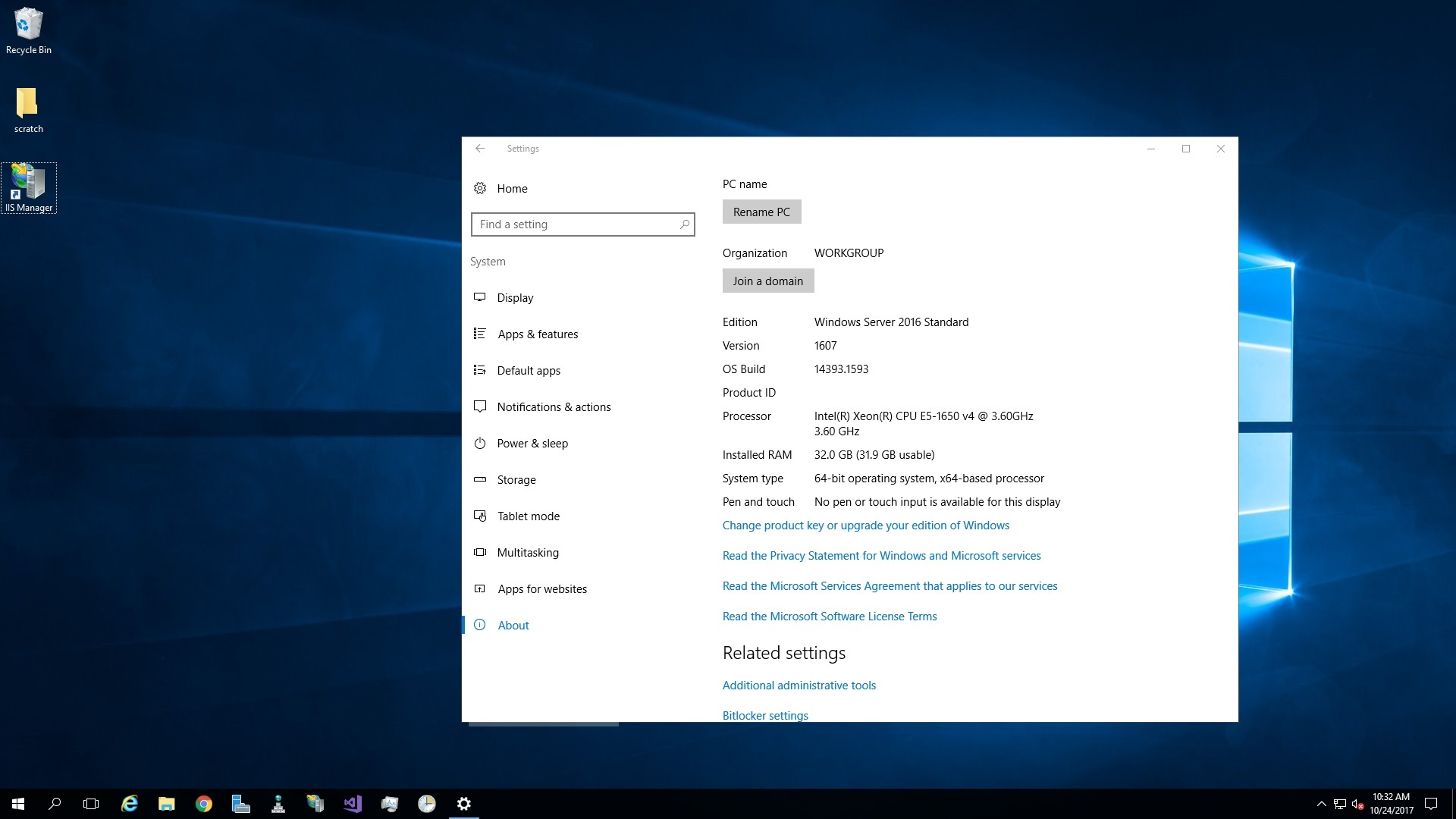 Free Download for Windows PC Windows Server 2016 x64 standard MARCH 2020