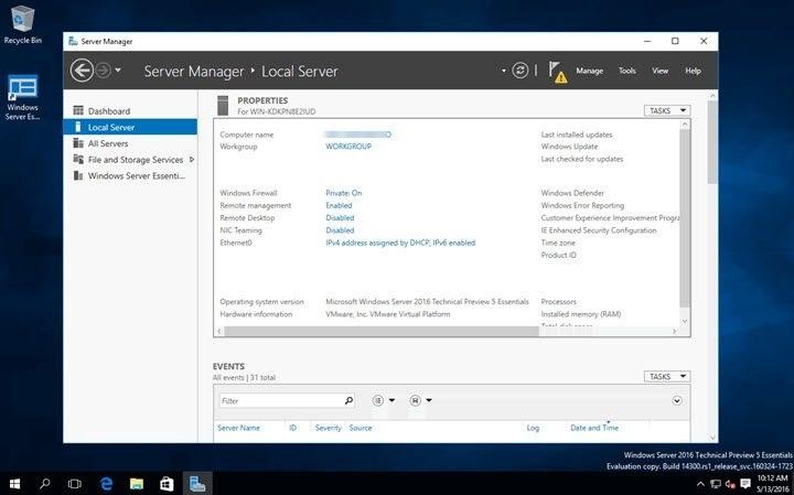 Offline Installer Download Windows Server 2016 x64 standard MARCH 2020