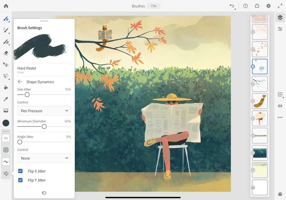Free Download for Windows PC Adobe Fresco 1.4
