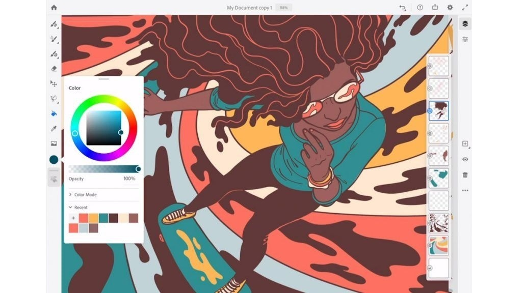 free download full version Adobe Fresco 1.4