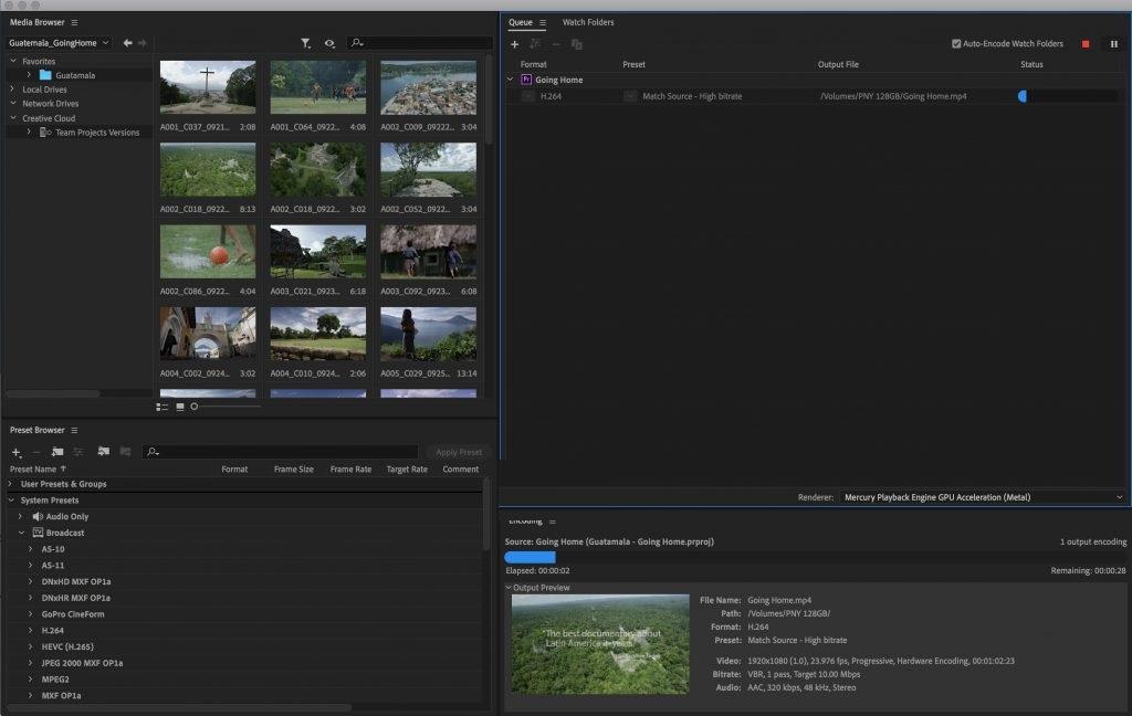 free download full version Adobe Media Encoder CC 2020