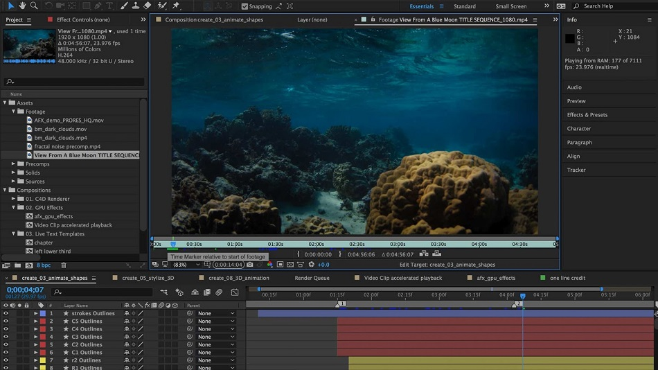 free download full version Adobe After Effects CC 2020
