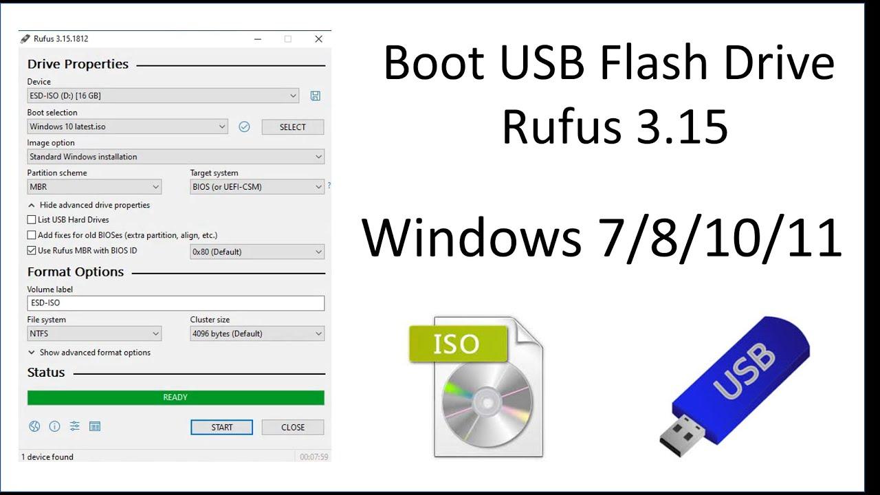 Offline Installer Download Rufus 3.15